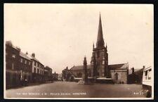 Hereford. War Memorial & St Peters by Walter Scott #R23