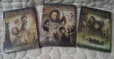 Lord of the Rings 1-3  Collector Set THREE SteelBook DVD  NEW&SEALED