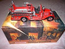 MATCHBOX YFE 09 1932 FORD AA OPEN CAB FIRE ENGINE