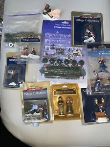 Village Accessories Icicles Wreaths Garland people,mailbox etc