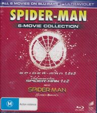 Spider-Man 6-Movie Collection Blu-ray NEW Ultraviolet Boxset Region 4