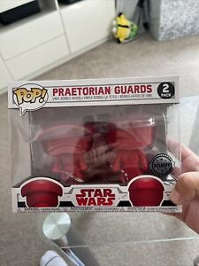 Funko Pop Star Wars - Praetorian Guards Vinyl Figures 2 Pack Exclusive 208 & 209