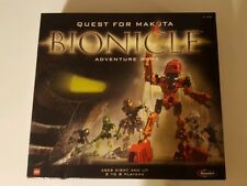 Quest for Makuta Bionicle adventure game LEGO RoseArt - Complete Set!