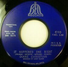 Diane Christian 45 It Happened One Night/Wonderful Guy Bell soul jf101