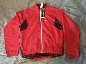 Louis Garneau Modesto 2 Cycling Jacket 2XL Red