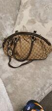 Authentic Gucci GG Monogram Sukey Medium Shoulder Bag