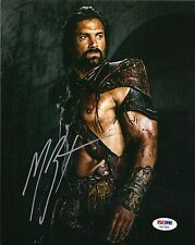 MANU BENNETT as CRIXUS SIGNED 8X10 PHOTO SPARTACUS, ARROW, SHANNARA CHRONICLES