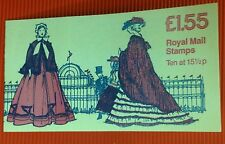Carnet 10 STAMPS £ 1.55 1850-1860 WOMEN'COSTUME ROYAL MAIL