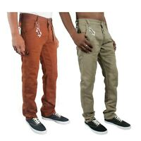 ETO Chino Designer Mens Jeans Casual Regular Cotton Trousers Pants 28 - 48