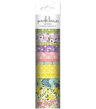 13 Rolls floral Washi Tape Tube Papercraft Planner Supply Crafts lemons daisies