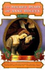 The Secret Diary of Anne Boleyn by Robin Maxwell 1998PB