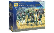 Zvezda 6809 - 1/72 figurines-set russian Foot Artillery 1812-1814 - NEUF