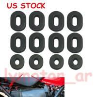 Set Honda CB100 CB125 CL100 CL125 CL CB 200 Side Frame Cover Grommet Rubber 6pcs