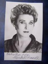 Elizabeth Counsell + note - autograph (GC5) 5.5 x 3.5  inch