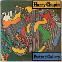 HARRY CHAPIN PORTRAIT GALLERY LP ELEKTRA BUTTERFLY LABEL USA 1975 NEAR MINT