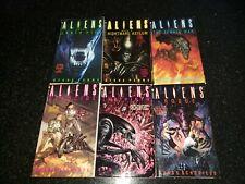 Aliens - Steve Perry Trilogy (Earth Hive, Nightmare Asylum, Female War) + 3 More