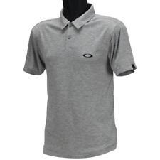 Oakley Callisto Polo Mens Size XXL Light Grey Hydrolix Casual Golf Tee Shirt