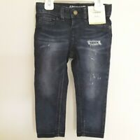 Girls jeans size 2T skinny adjustable waist super stretch brand OshKosh New blue