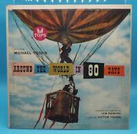 Vintage Music From Around The World In 80 Days Record LP Vinyl Album