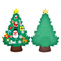 Kids DIY Felt Christmas Tree Ornaments Xmas Gifts Wall Hanging Decor Toy Gifts