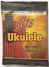 GHS H-10 Ukulele Strings nylon with tie ends