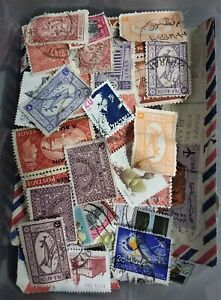 Africa and Middle East stamps - around 50 stamps countries list in description.