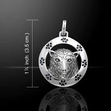 Ted Andrews Polar Bear .925 Sterling Silver Pendant by Peter Stone