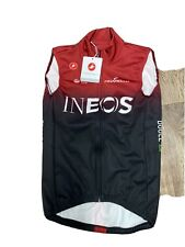 Team Ineos Castelli  Thermal Cycling  Vest Jacket For Winter Layers Pinarello