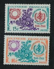 CKStamps: France Stamps Collection French Polynesia Scott#241 242 Mint H OG
