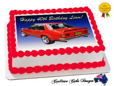 Torana SLR 5000 Car Edible Icing Image Cake Topper Personalised Party Decoration