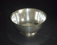 Fisher Paul Revere Sterling Silver Reprodoction 1768 Bowl 8""