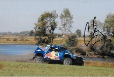 Carlos Sainz firmado 9x6 Red Bull VW Touareg, Daker Rally 2009