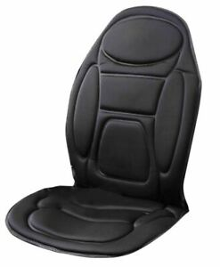 NEW MASSAGE SEAT COVER HEATED HEAT BACK NECK CUSHION CAR HIPS THIGHS MASSAGER