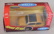 FIAT 500 NUOVA MARRON CLAIR - WELLY - 1/43EME - NEUF SOUS BLISTER !!