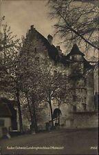 Baden Schweiz Switzerland Aargau 1911 Landvogteischloss Museum Schloss gelaufen