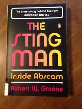 The Sting Man: Inside Abscam by Robert W. Greene (2013, PB) American Hustle Film