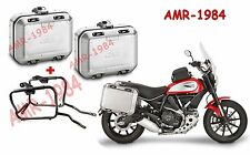 KIT BORSE VALIGIE GIVI DLM30A DOLOMITI  Ducati Scrambler 800 +  PL7407 DLM30