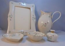 Vintage Lenox 5 Piece Dresser Set in Rose Manor Pink