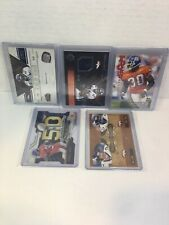 2012 TERRELL DAVIS 5 CARD LOT /99 /49 /1000 + ROOKIE- NATIONAL TREASURE BRONCOS