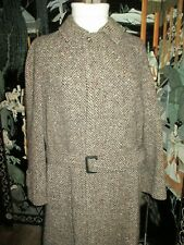 SAKS FIFTH AVENUE MEN'S LONG WINTER  WOOL COAT SIZE MEDIUM  FROM ITALY.!!