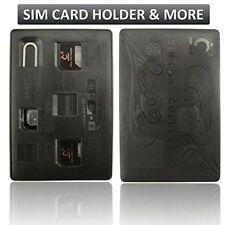New LBT Nano 4 in1 Sim adapter and Sim card / Micro SD/TF Storage/Protector Card