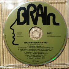 USE YOUR BRAIN - PROMO CD  Guru Guru Cluster  Yatha Sidhra  Embryo Jane Harmonia