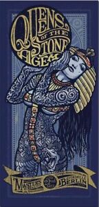 Queens of the Stone Age MUSIC CONCERT METAL TIN SIGN POSTER WALL PLAQUE
