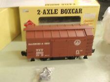 ARISTO CRAFT TRAINS ART-40305 BOXCAR 2-AXLE BALTIMORE OHIO 1 GAUGE MINT NIB