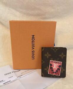 NIB RARE LOUIS VUITTON Monogram MINI JULES Notebook - LA LOS ANGELES CALIFORNIA