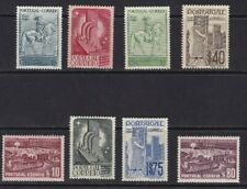 1940 Portugal - Yvert 608/615 - MNH - Valor 55 €