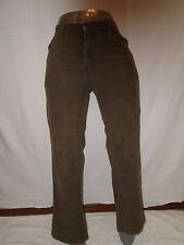 Baby Phat Women's  Brown Corduroy Pants Size 32 X 30
