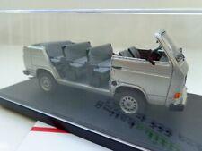 + VOLKSWAGEN VW T3 b Werksbesichtigungscabrio in 1:43 von autocult 333 St.  NEU