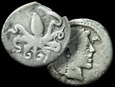 OCTOPUS - ARETHUSA / SICILY, Syracuse 466 BC Æ Tetras +COA/ Probable SILVER Coin