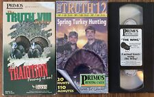 Primos Hunting The Truth Series Vintage Wild Turkey Spring Hunting Videos Vhs